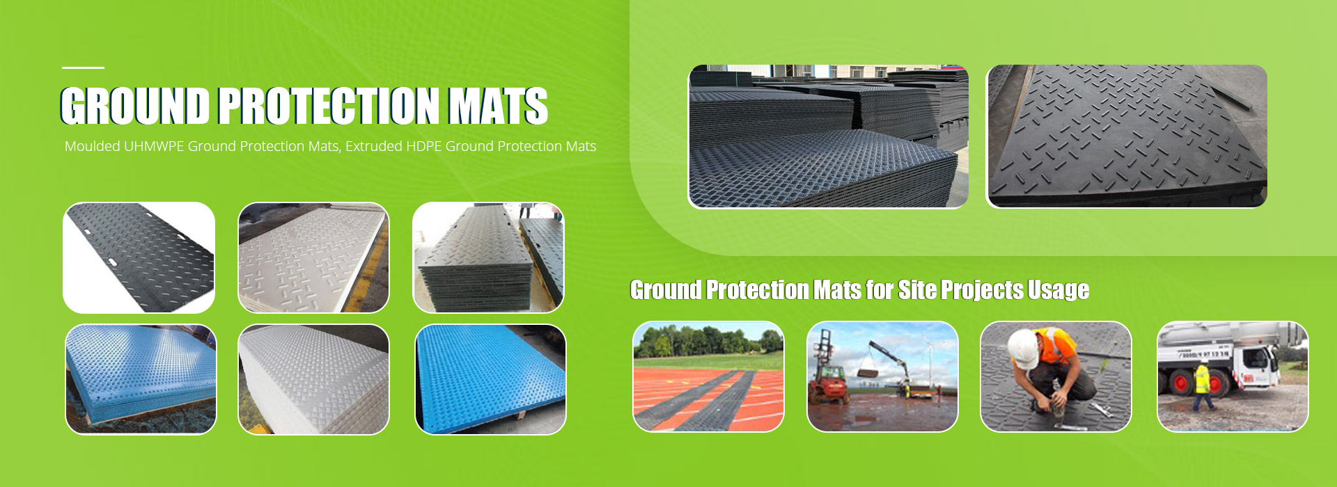 Groundprotection Mats