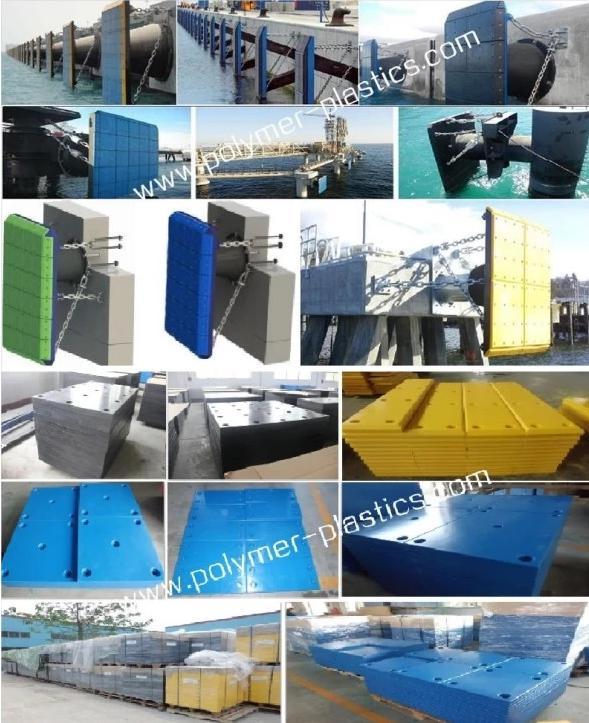 UHMW-PE marine fender pad