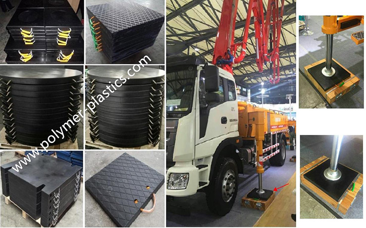 UHMWPE Outrigger Pad Introduction