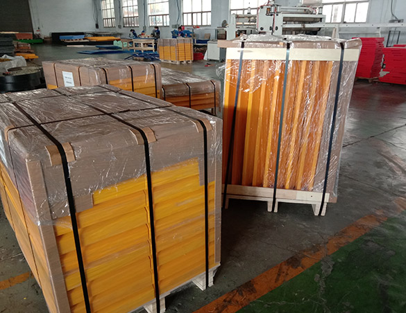 Yellow Color UHMWPE Marine Fender Pad for Panama Projects