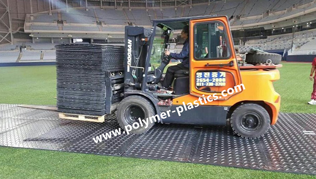 HDPE Ground Protection Mat for Korean Client