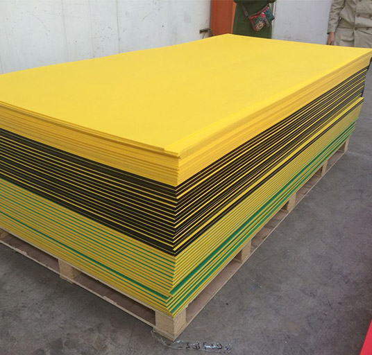 Dual Colored UHMWPE 1000 Sheet