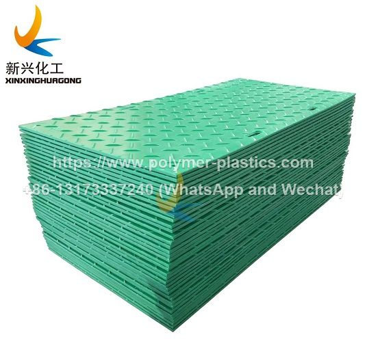 hdpe ground protection mat