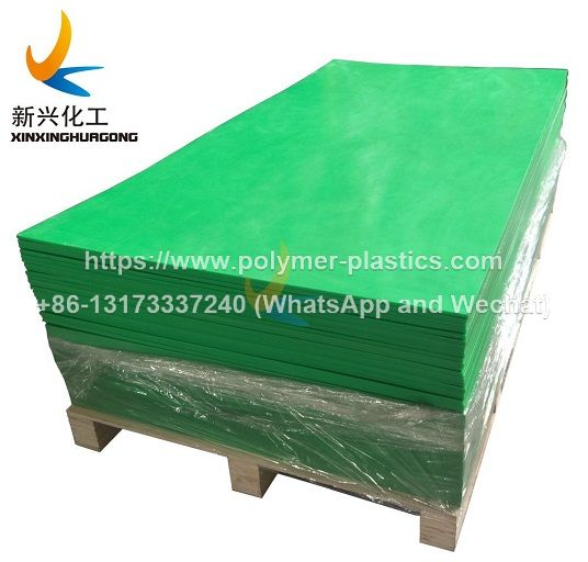 green color uhmwpe sheet