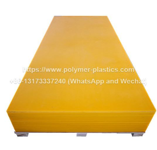 yellow color uhmwpe sheet