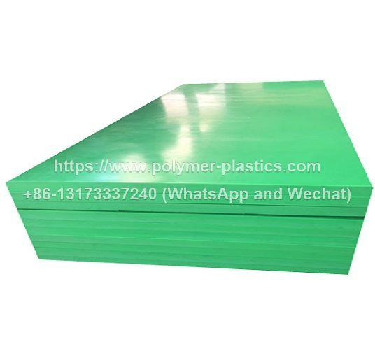 green uhmwpe sheet for liner solution
