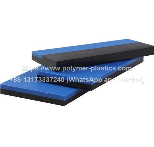 dual color uhmw-pe sheet