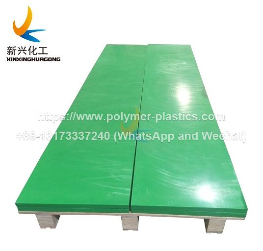 green color uhmwpe block