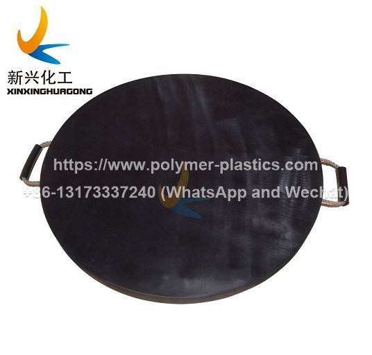 round shape uhmwpe outrigger pad