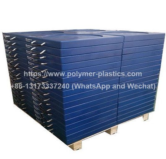 square shape uhmwpe outrigger pad