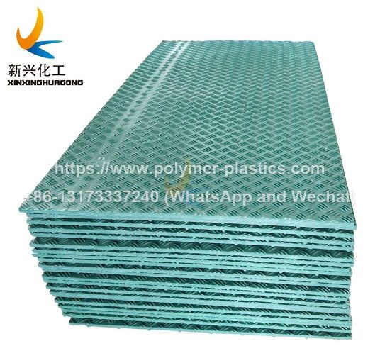 temporary uhmwpe hdpe road mats