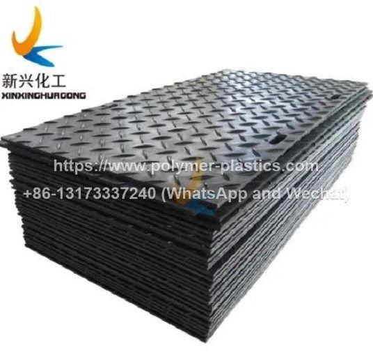 PE polymer ground mats
