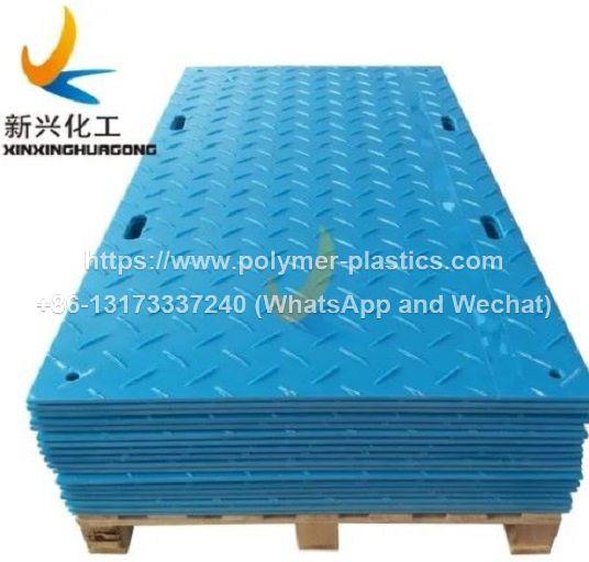anti-slip texture uhmwpe hdpe ground mats