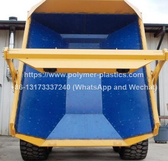 dump truck liner in uhmwpe plastic