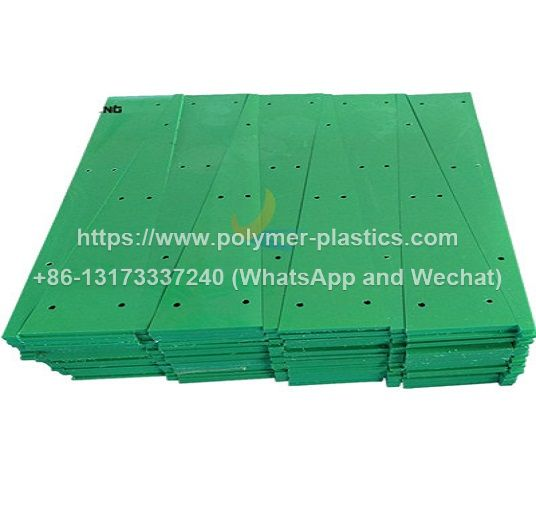 green color uhmwpe wear strip