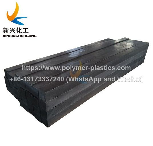 uhmwpe wear strip for material handling and conveying machinery