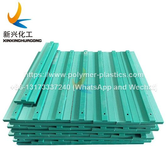 uhmwe plastic chain guide and guide rail