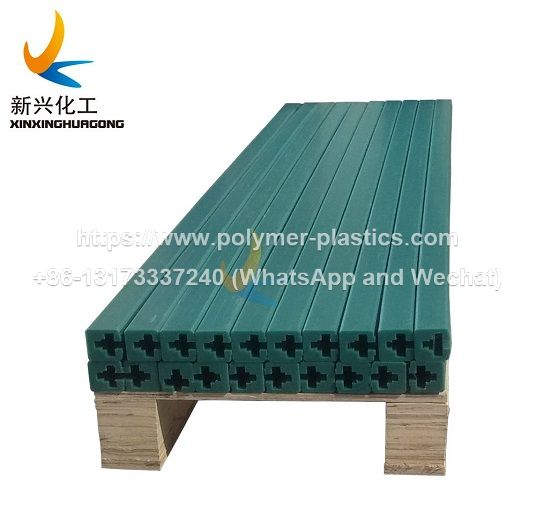 uhmwpe guide track rail for conveyor