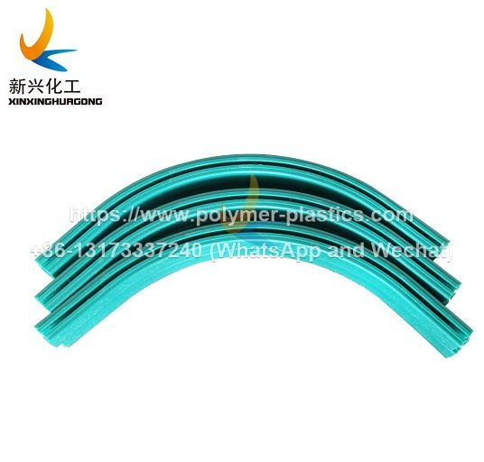 uhmwpe chain guide and belt guide