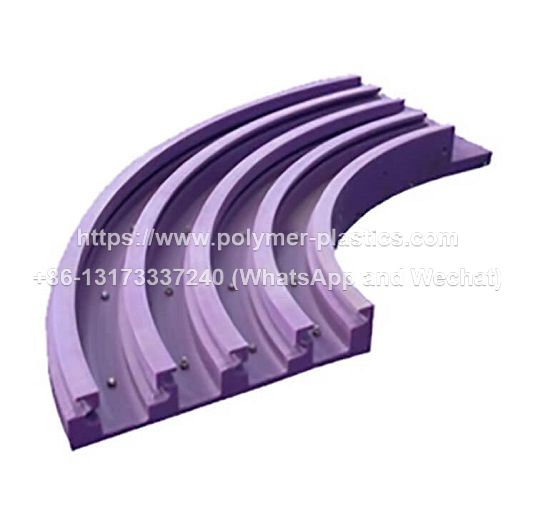 uhmwpe roller chain guide and track guide