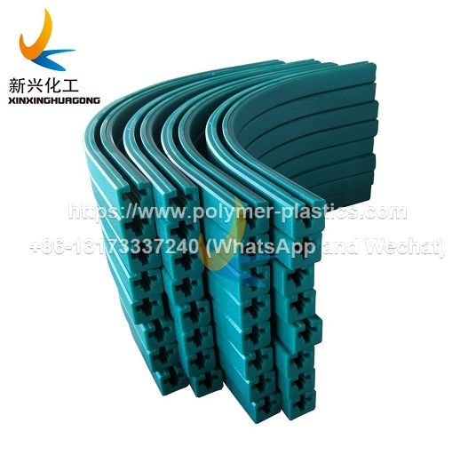 uhmwpe chain tracks and chain guides