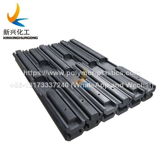 made to order uhmwpe slide guide chain track rail