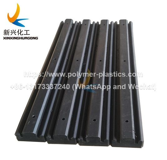 uhmwpe chain track guide and corner track guide