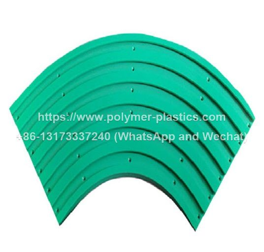 uhmwpe chain guide track conveyor system