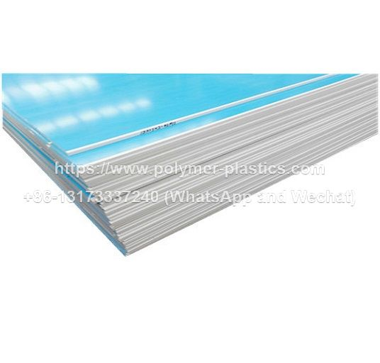 hdpe sheet with surface covered plastic protection film