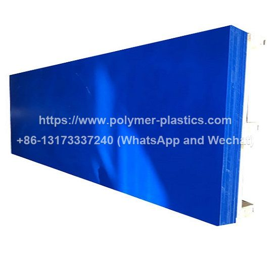 blue color hdpe sheet of 2440x1220 and 8feet x 4feet