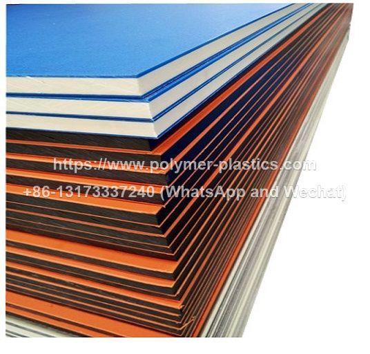 orange peel texture hdpe sheet and