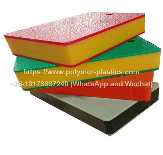 orange peel texture surface hdpe sheet in 3 layer