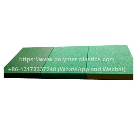 96in x 48inch color core 3 layer orange peel texture hdpe sheet