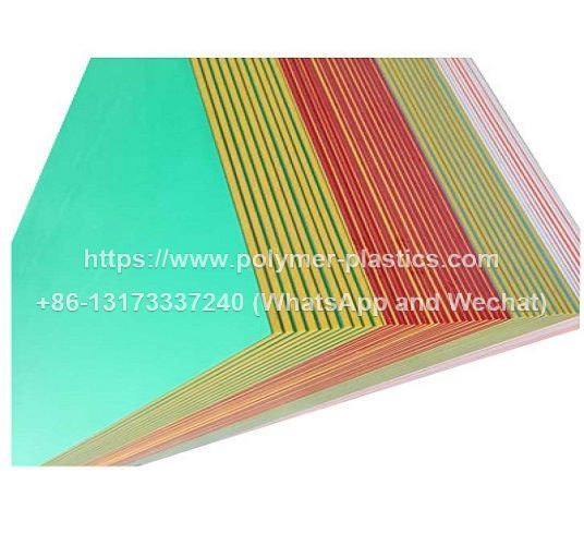 colorcore hdpe sheet with 3 layer and orange peel texture surface