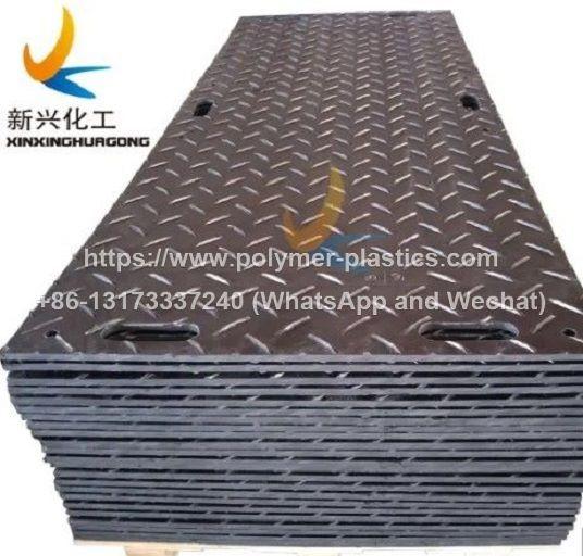 Ground protection mats, access mats, heavy-duty plastic mats, or HDPE mats