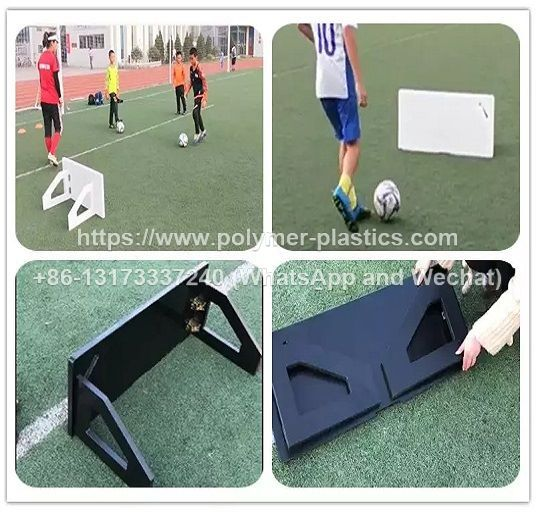 HDPE Plastic Soccer Rebounder Board Football Training for Professional Football Players Soccer Bounce Training