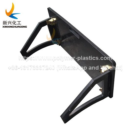 HDPE plastic rebounder board for soccer practice and training