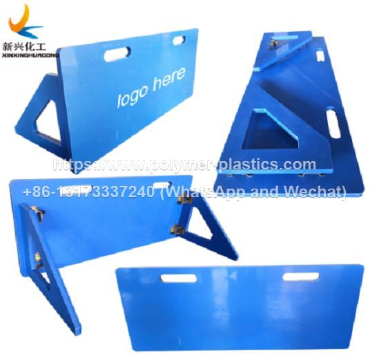 HDPE plastic soccer training rebounce board and rebounder board