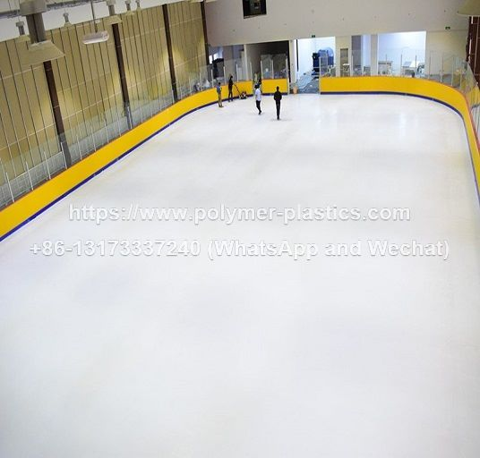 30x15m ice rink barrier dasher boards