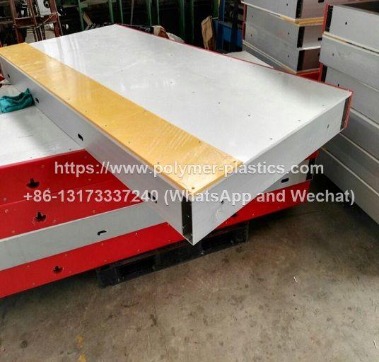 welded aluminum frame ice rink dasher boards