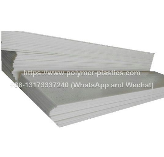Polypropylene Sheet 2000 x 1000 x 8mm (Natural)