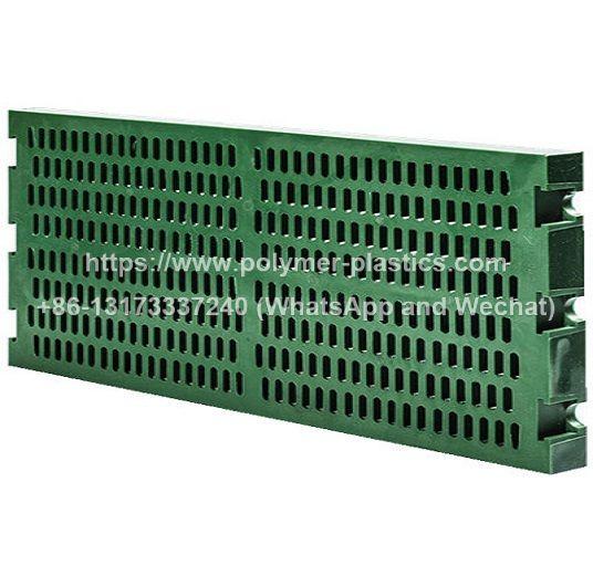 Polyurethane Vibrating Screen PU Sieve Plate and polymer elastic sieve