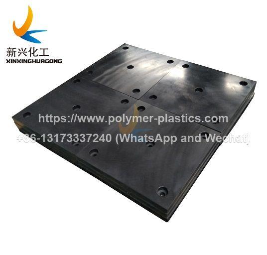 dock rubber fender UHMWPE pad