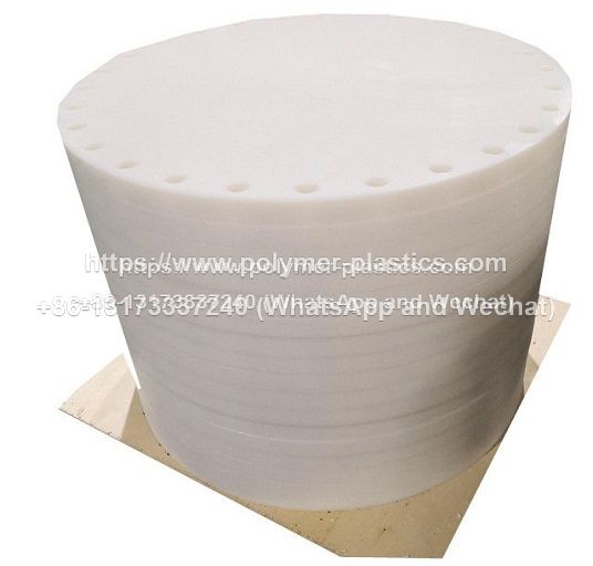 UHMWPE disc and UHMWPE roller