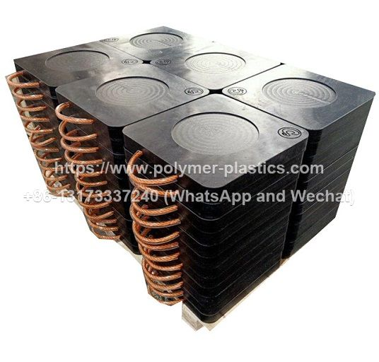UHMWPE cribbing block and uhmwpe stabilizer pad