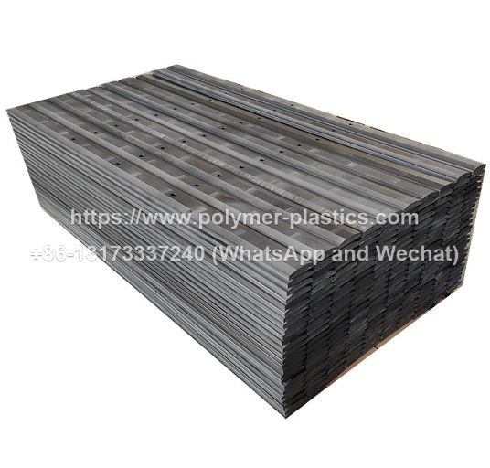uhmwpe guide rail and track guide for chain conveyor