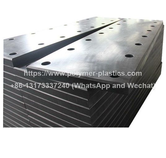 uhmwpe frontal face pad for rubber fenders