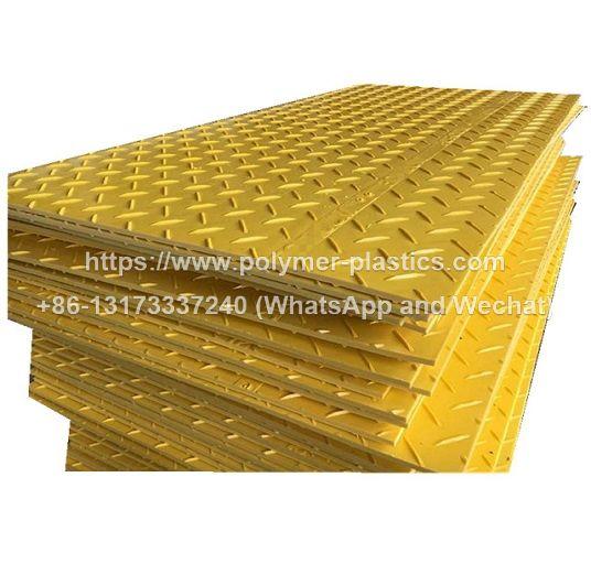 temporary hdpe composite mats