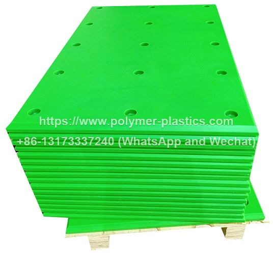 cruise ship terminal fender with UHMWPE