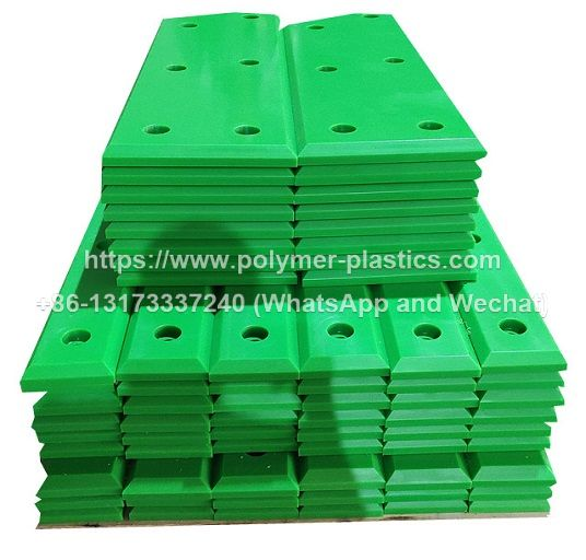 hyper omega rubber fenders with uhmwpe